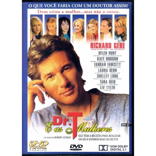 DR. T E AS MULHERES - DVD