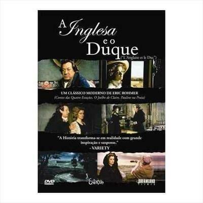 A INGLESA E O DUQUE - DVD