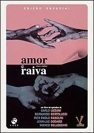 AMOR E RAIVA - DVD