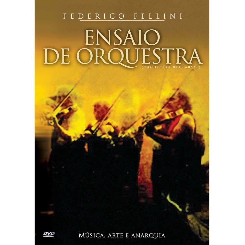 ENSAIO DE ORQUESTRA - DVD