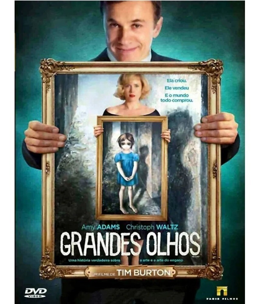 GRANDES OLHOS - DVD