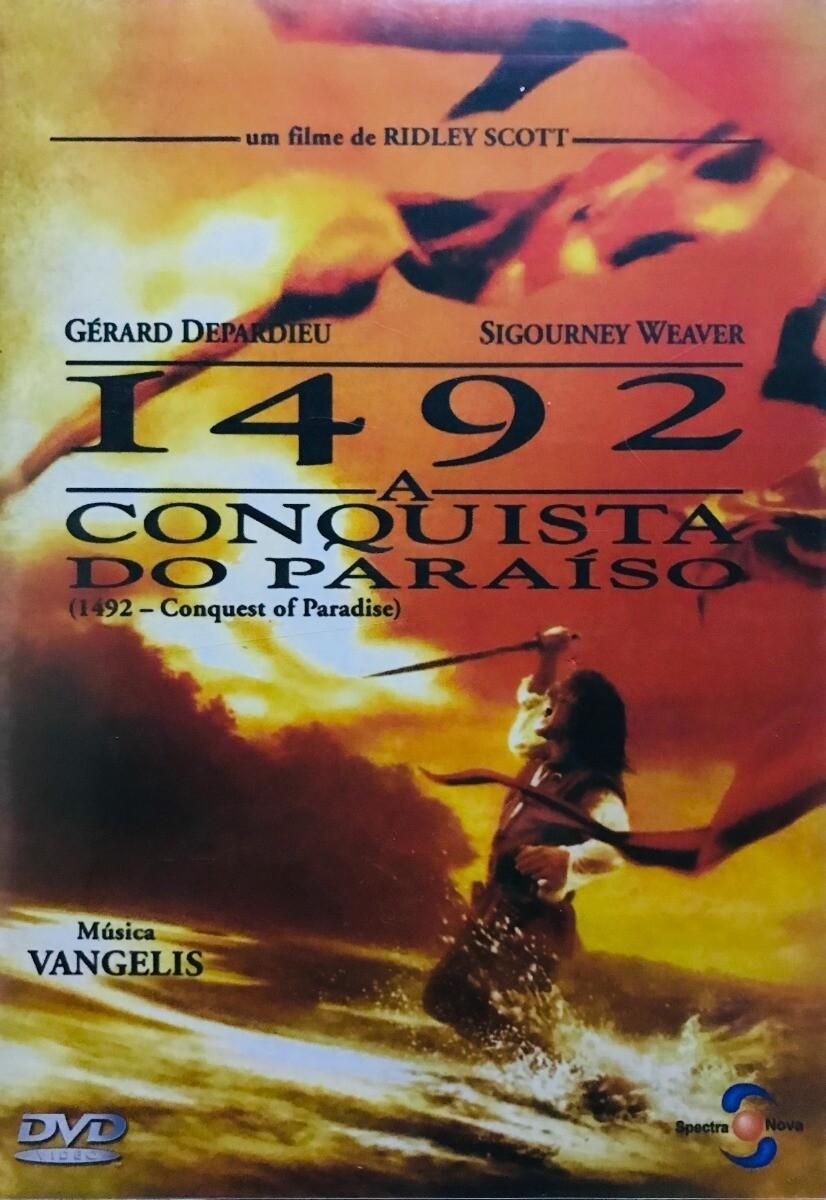 1492 - A CONQUISTA DO PARAISO - DVD