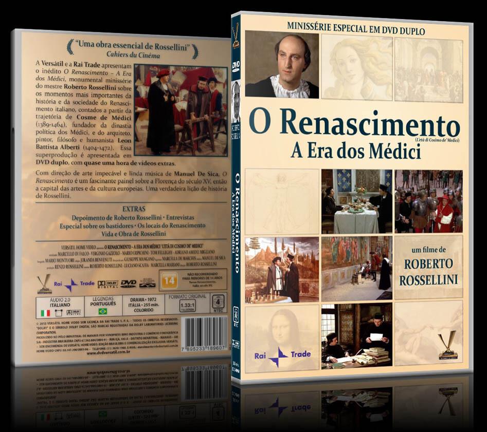 O RENASCIMENTO - A ERA DOS MEDICI - DVD