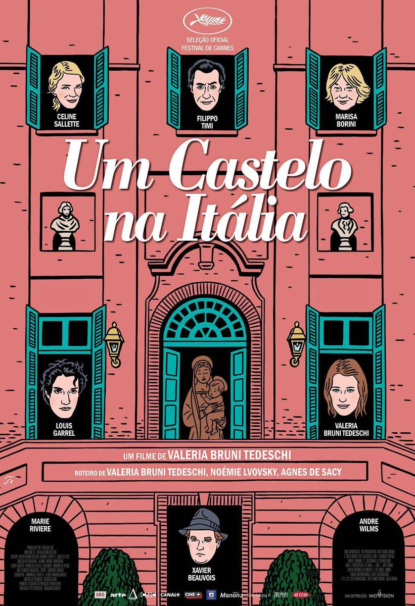 UM CASTELO NA ITALIA - DVD