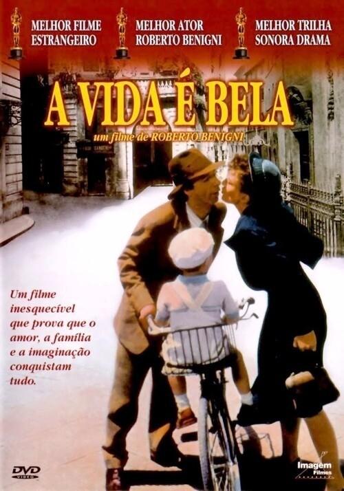 A VIDA E BELA - DVD