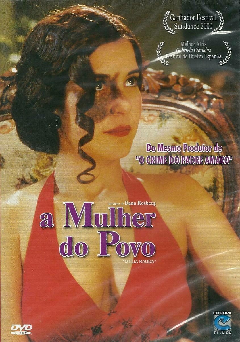 A MULHER DO POVO - DVD