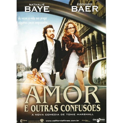 AMOR E OUTRAS CONFUSOES - DVD