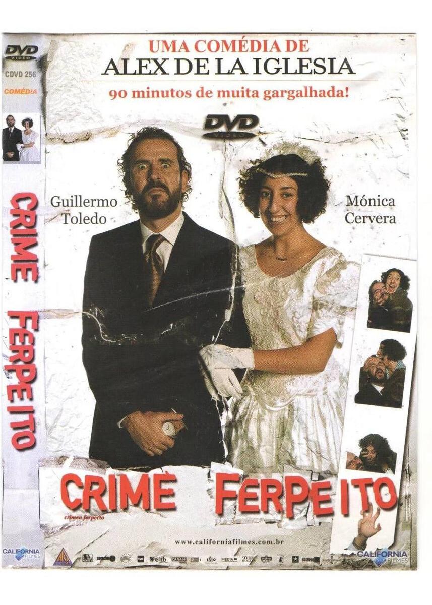 CRIME FERPEITO - DVD