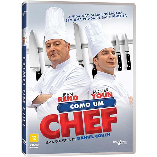 COMO UM CHEF - DVD
