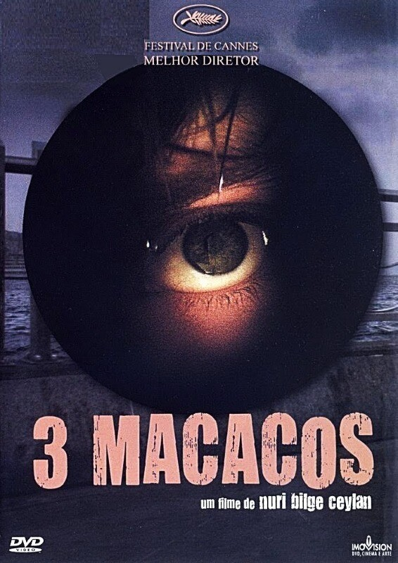 TRES MACACOS - DVD