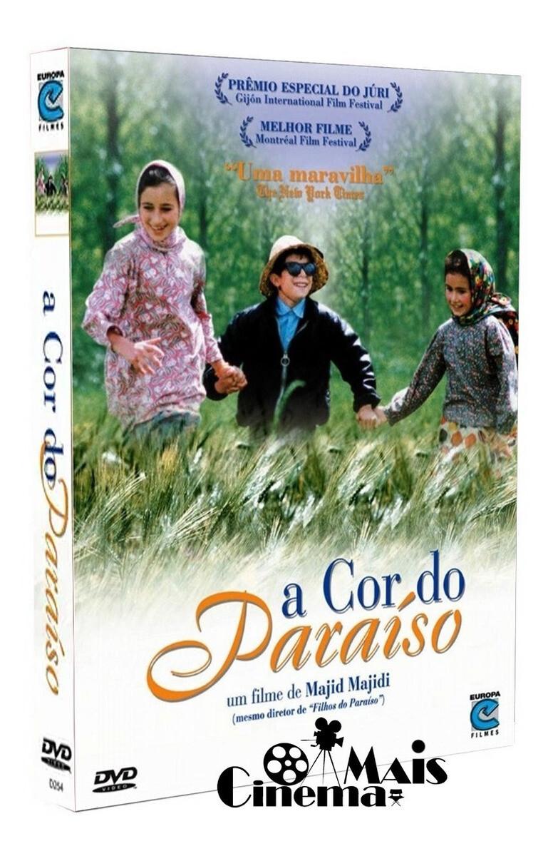 A COR DO PARAISO - DVD