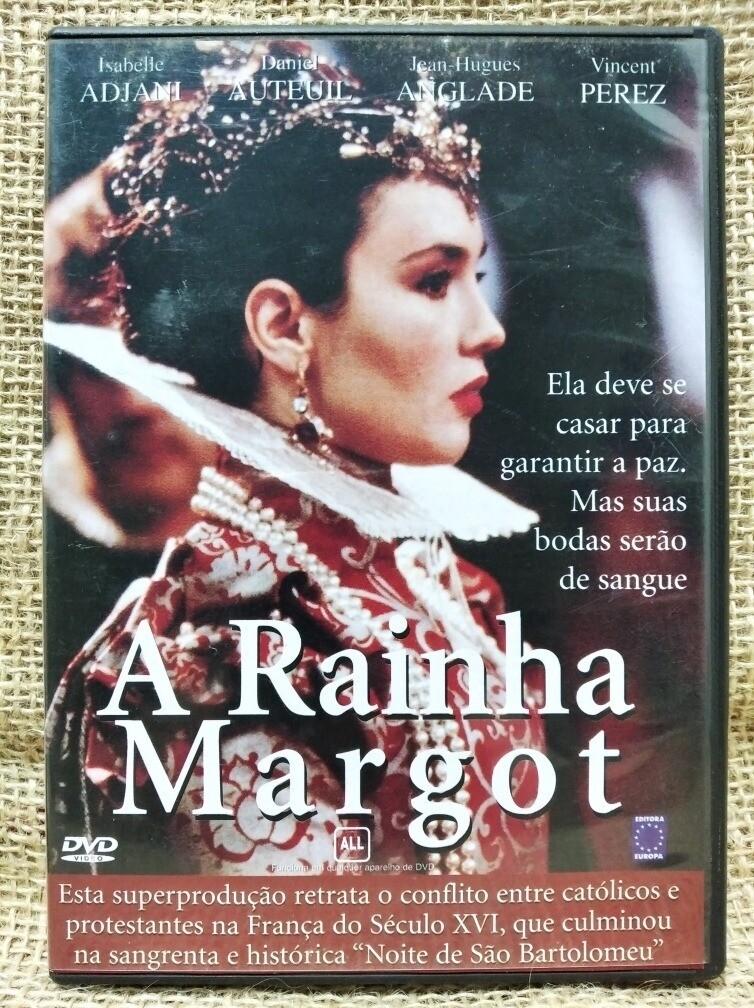 A RAINHA MARGOT - DVD
