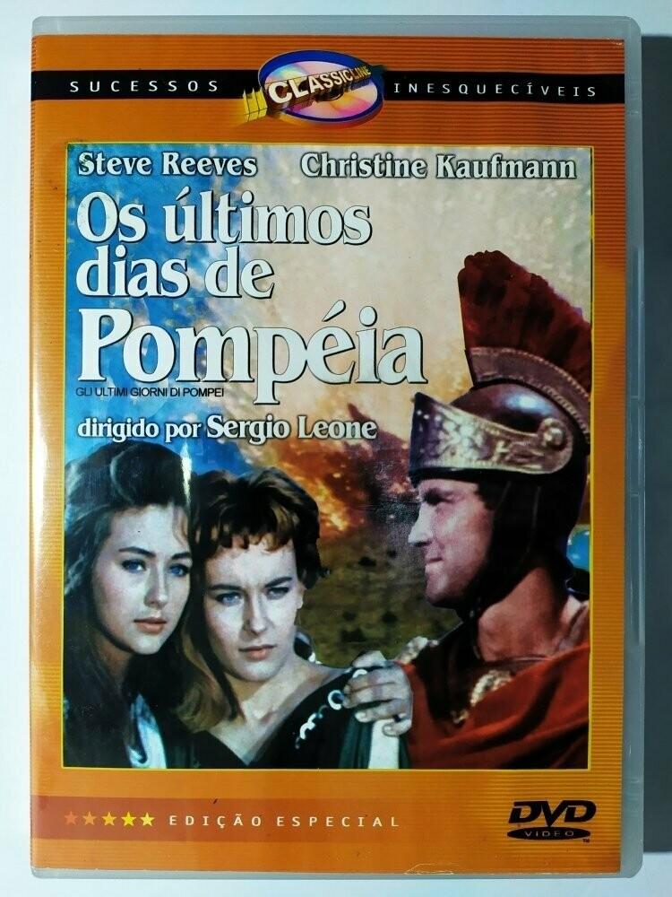 OS ULTIMOS DIAS DE POMPEIA - DVD