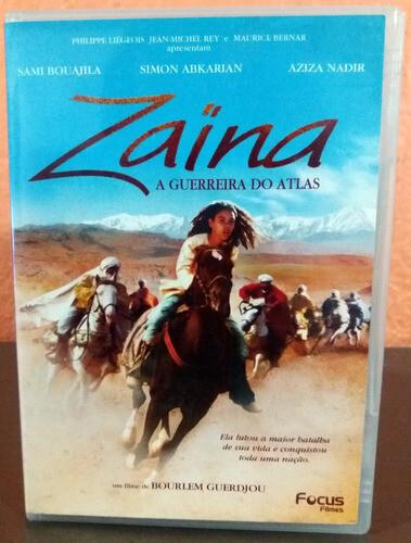 ZAINA, A GUERREIRA DO ATLAS - DVD