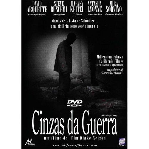CINZAS DA GUERRA - DVD