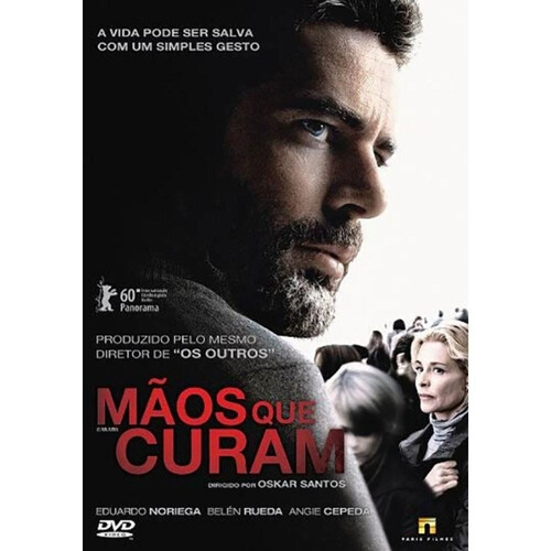 MAOS QUE CURAM - DVD