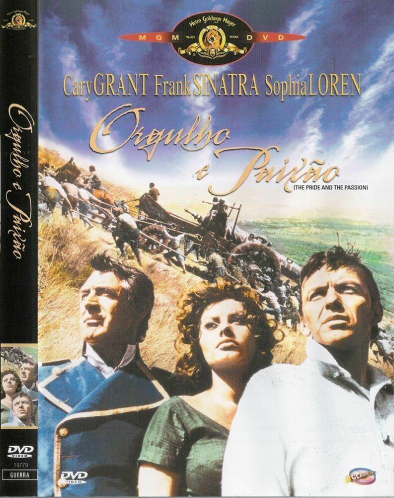 ORGULHO E PAIXAO - DVD