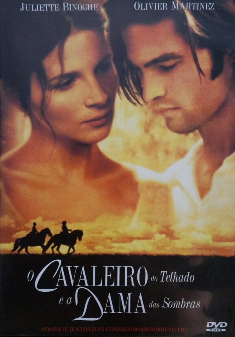 O CAVALEIRO DO TELHADO E A DAMA DAS SOMBRAS - DVD