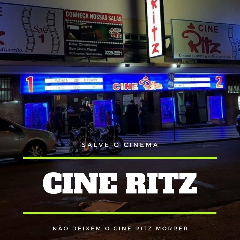 Lote de 10 Ingressos do Cine Ritz