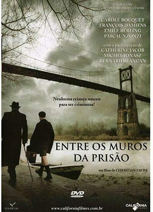 ENTRE OS MUROS DA PRISAO - DVD