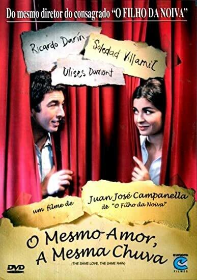O MESMO AMOR, A MESMA CHUVA - DVD