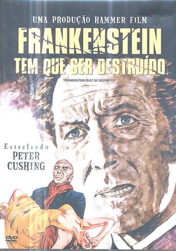 FRANKESTEIN TEM QUE SER DESTRUIDO - DVD