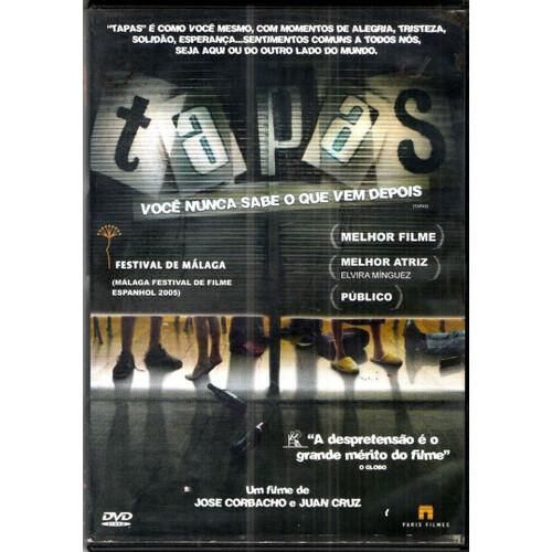 TAPAS - VOCE NUNCA SABE O QUE VEM DEPOIS - DVD