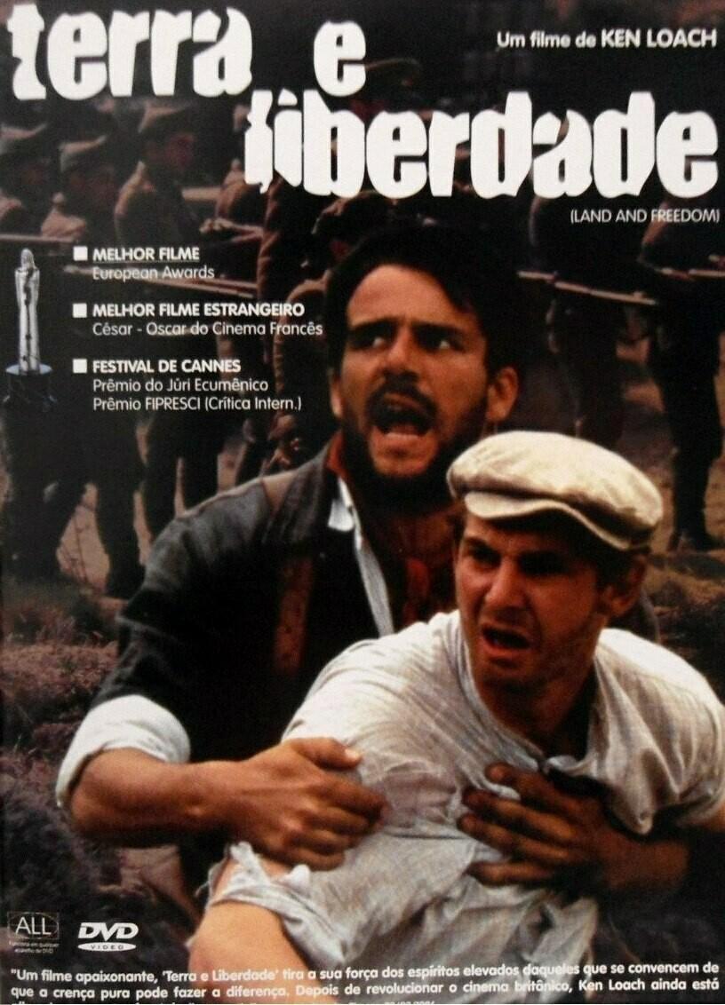 TERRA E LIBERDADE - DVD