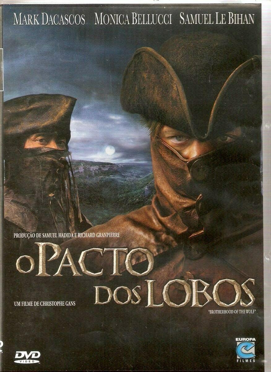 O PACTO DOS LOBOS - DVD