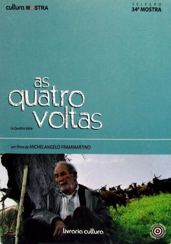 AS QUATRO VOLTAS - DVD