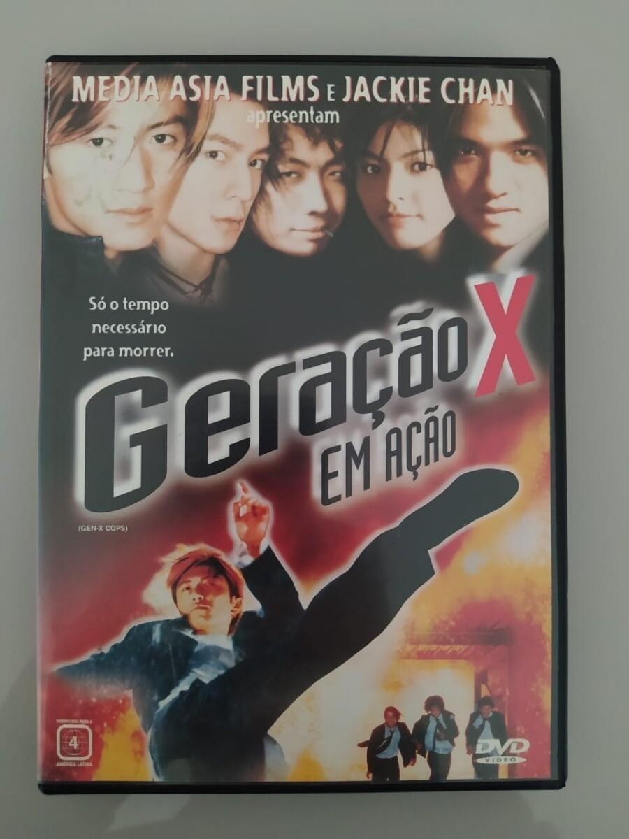 GERACAO X EM ACAO - DVD