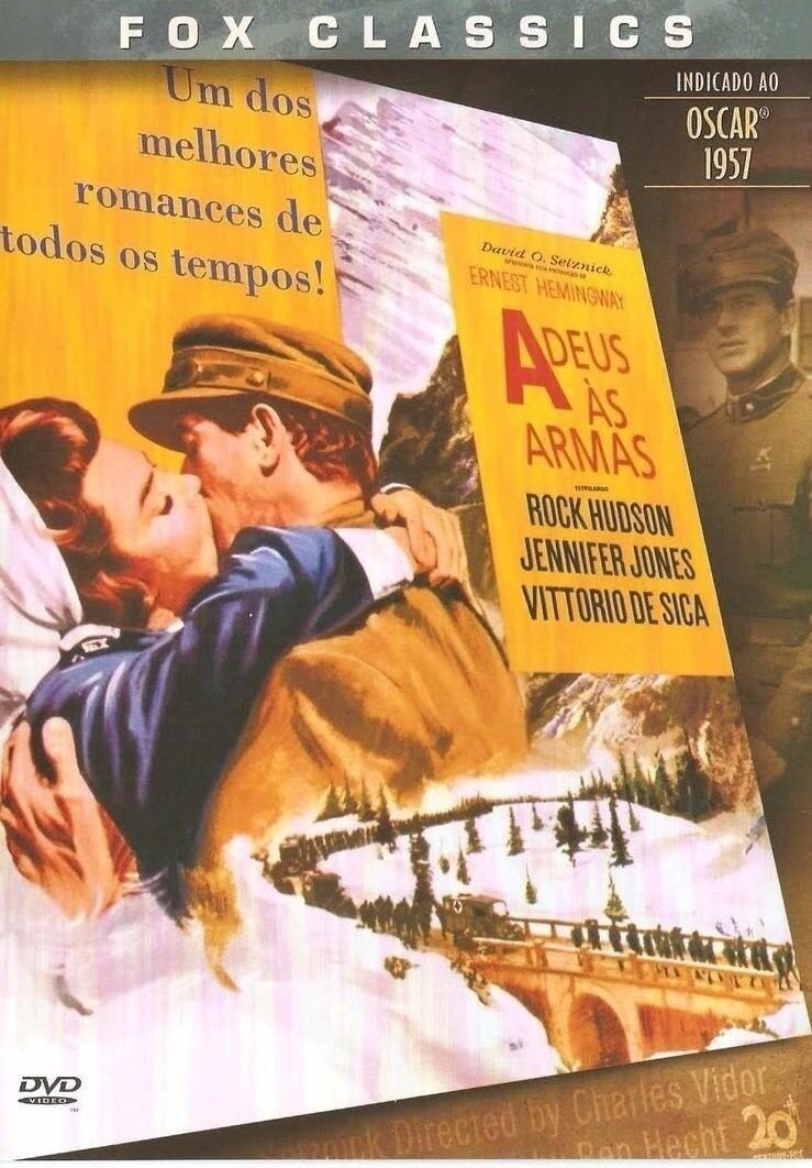 ADEUS AS ARMAS - DVD