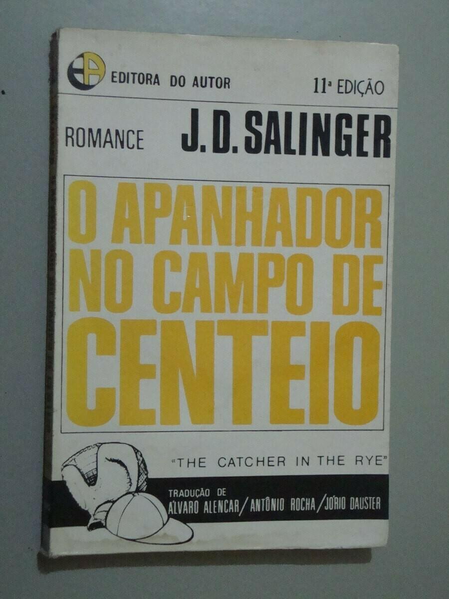 O APANHADOR NO CAMPO DE CENTEIOS - J.D. SALLIGER (USADO)