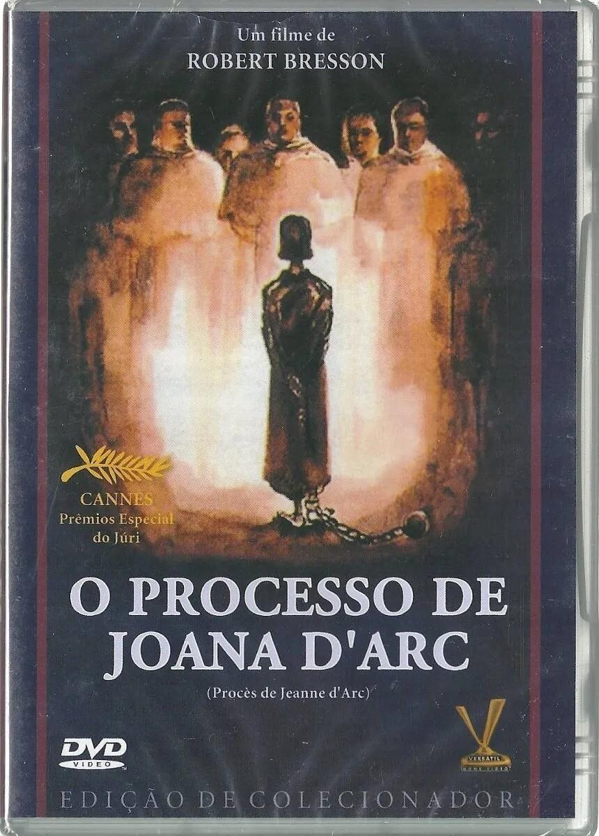 O PROCESSO DE JOANA D'ARC - DVD