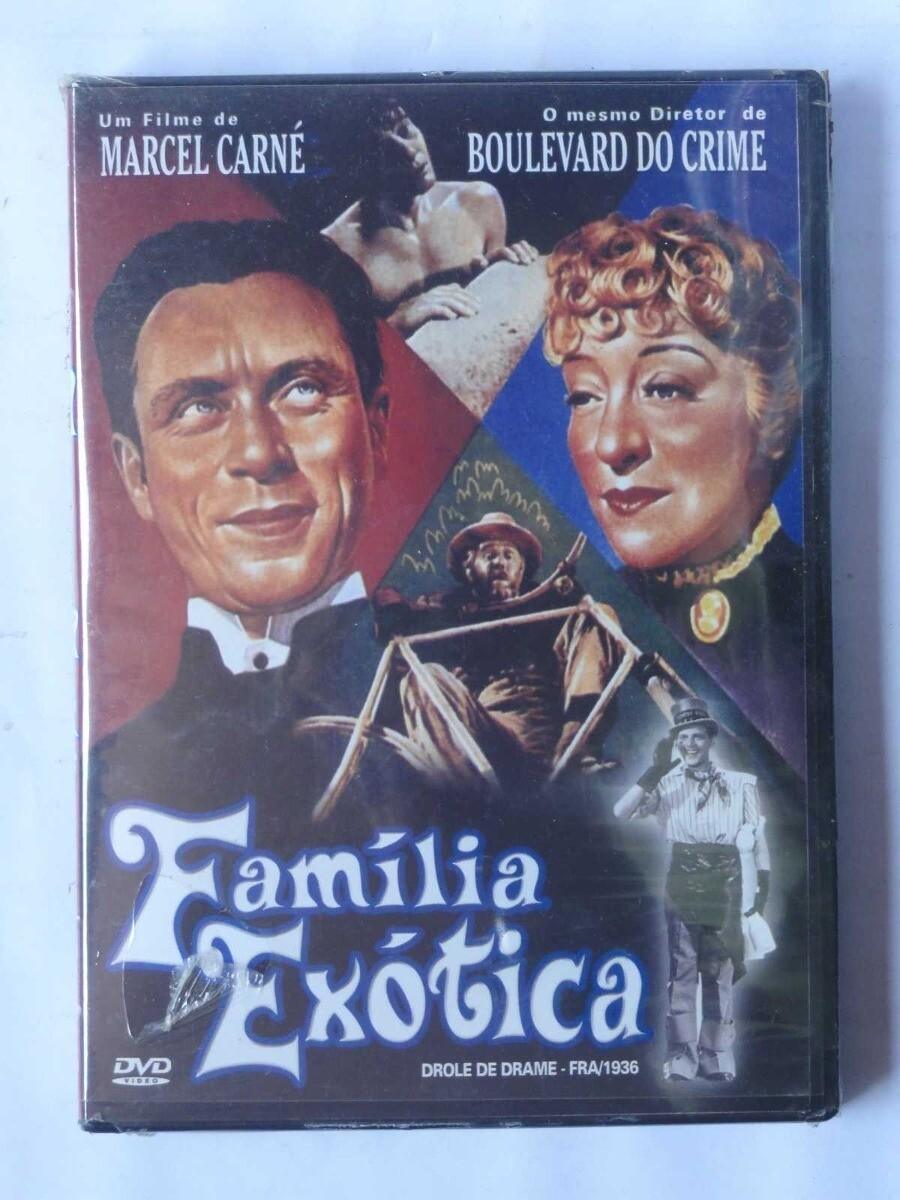 FAMILIA EXOTICA - DVD