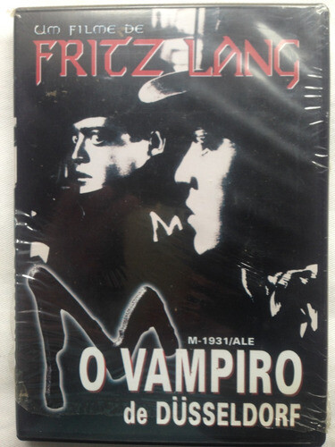 M, O VAMPIRO DE DUSSELDORF - DVD