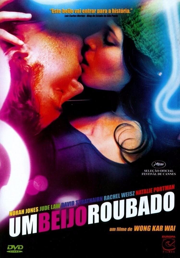 UM BEIJO ROUBADO - DVD