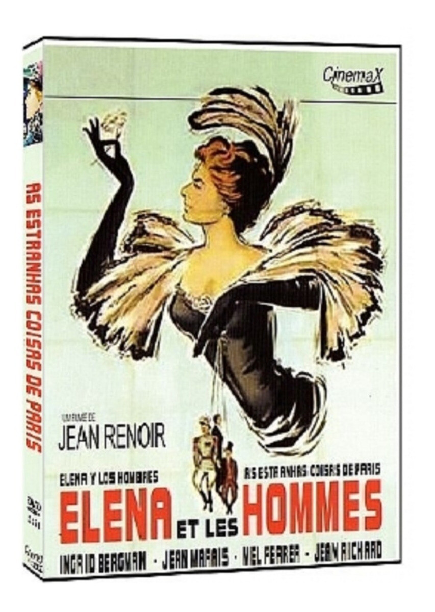 A ESTRANHA COISAS DE PARIS - DVD