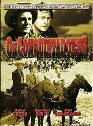 OS CONQUISTADORES - DVD