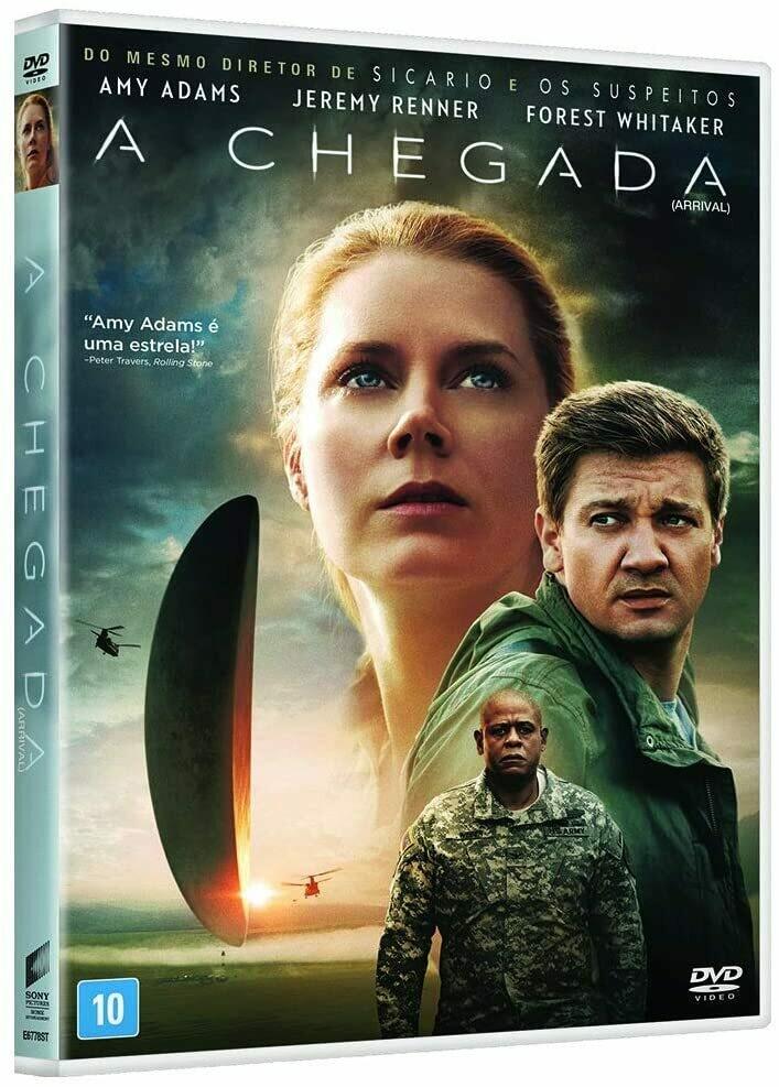 A CHEGADA - DVD