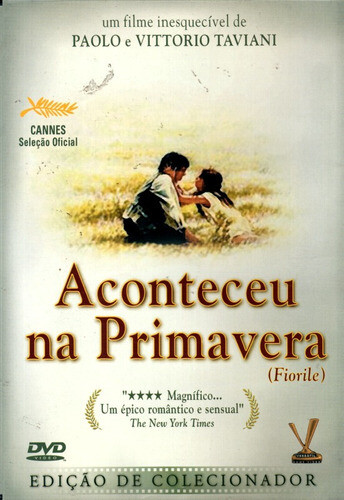 ACONTECEU NA PRIMAVERA - DVD