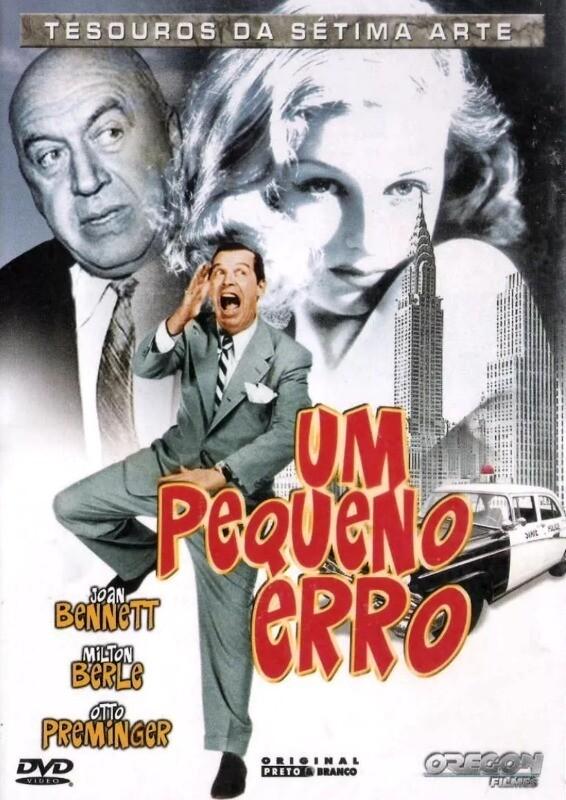 UM PEQUENO ERRO - DVD