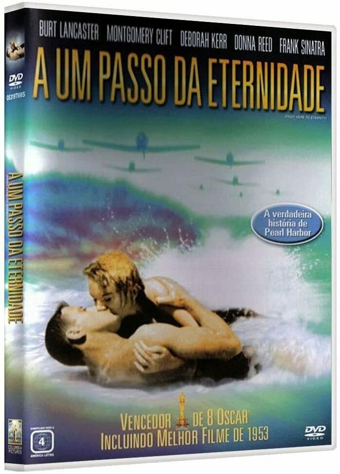 A UM PASSO DA ETERNIDADE - DVD