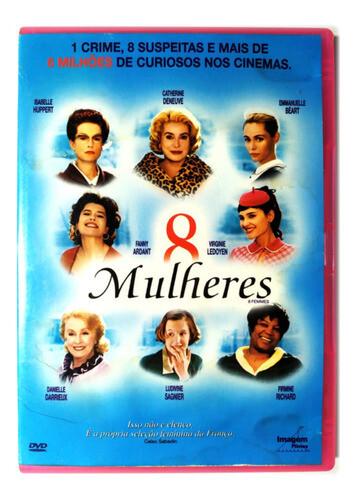 8 MULHERES - DVD
