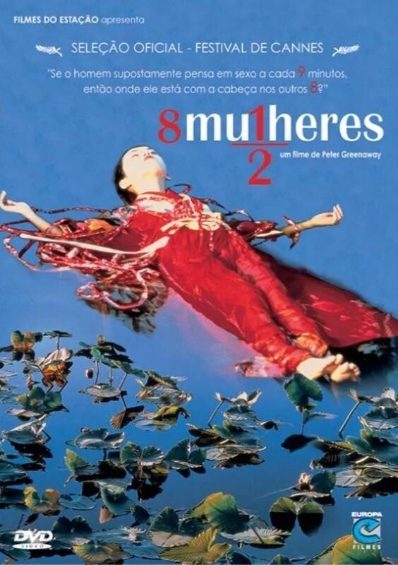 8 MULHERES E MEIA - DVD