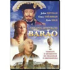 AS AVENTURAS DO BARAO MUNCHAUSEN - DVD