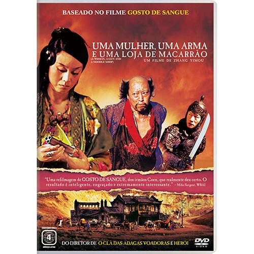 UMA MULHER, UMA ARMA E UMA LOJA DE MACARRAO - DVD