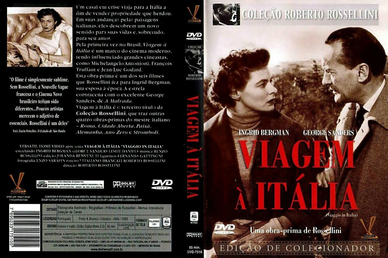 VIAGEM A ITALIA - DVD