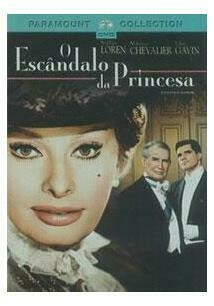 O ESCANDALO DA PRINCESA - DVD
