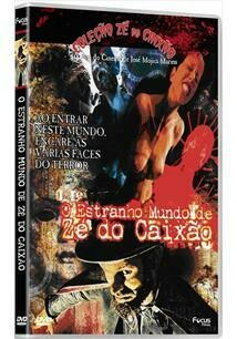 O ESTRANHO MUNDO DE ZE DO CAIXAO - DVD